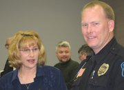 Police Chief Wayman and wife.