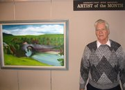 Gene Young, artist of the month.