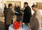 Rodney Morris in Iraq.