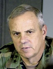 Lt. Gen. William S. Wallace, commanding general of Fort Leavenworth, is in line for a promotion and new job.