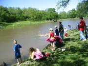 The annual OK Kids Day Fishing Derby Saturday at Lost 80 Park drew about 130 young anglers