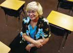 Terry Robins, most recently a Monticello Trails Middle School communication arts teacher, retired this year. She began teaching at De Soto Junior High School in 1974 and was called on to lead a hodgepodge of courses and extra-curricular activities during her 30 years with the district.