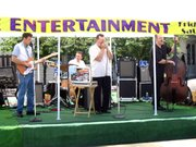 Lonesome Hank and the Heartaches take the stage outside the Overlook on Saturday at Lansing DAZE.