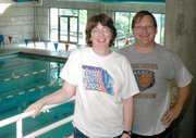 Leavenworth Riptides coaches Kelli and John Denney are seeing rising interest in swimming locally. Their club has 82 members this year, up from 59 in 2004.