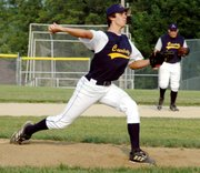 Mike Amaral picked up his fourth victory of the summer on Thursday night as he threw a seven-hitter against St. Joe.