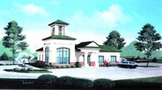 An architect's rendering of the new MidAmerican Bank building slated for Towne Center Pointe.
