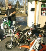 Jeff Becker is the owner of D&J Powersports. The shop, which specializes in motocross, opened Dec. 1 at 214 N. Main St.