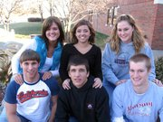 Lansing High School will crown its Winter Royalty king and queen during halftime of Friday's LHS vs. Mill Valley boys basketball game. Queen candidates, top row from left, are seniors Katie McKee, Kim Cavaleri and Rachel Darrow. King candidates, bottom row from left, are seniors Lance Fink, Sean Flynn and David Kern.