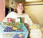 The food pantry is just one of the programs De Soto Multi-Service Center coordinator Jodi Hitchcock oversees. In recognition of the work she does for the city's less fortunate, she was named grand marshal of the De Soto Days parade.