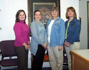"Four Lansing Intermediate School teachers have been nominated for the 2005-'06 edition of ""Who's Who Among America's Teachers."" They are, from left, fourth-grade teachers Felicia Yoakam and Lisa Dewane, and fifth-grade teachers Barb Alonzi and Debbie Beall."
