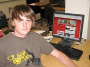 Andy Armstrong, a Lansing High School junior, recently redesigned the school's Web site. Armstrong, who has freelanced designs to Web companies, has started his own business, HyperForm Media.