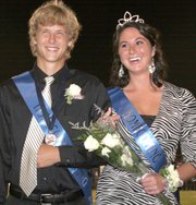 Mill Valley students selected Scott VanKuiken and Maggie Barnett as their homecoming king and queen.