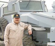 Jose Marrero, a Lansing resident, is in Baghdad, Iraq, as a as a civilian defense worker.