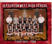 The Jefferson West High girls basketball team is, bottom row, from left, Alie Armsrtong, Alexis Lauer, Monica Sanders, Heather Wright and Michelle Bowen; middle row, Taylor Jaimes, Hayley Hypse, Marcia Beecham, Jessica Wells, Jesse Martin, Morgan Scott and BriAnna Ploude; back row, assistant coach Jake Lenherr, manager Eric Renna, Audrey Mullins, Nichelle Palmateer, Emily Starr, Katie Bigham and coach Dan Hypse.