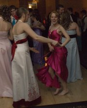 Alicia Osbourne and Addy Phelps cut loose on the dance floor.