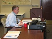Leavenworth County Planning and Zoning director Chris Dunn