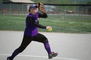 Sam Farris pitched all five innings for McLouth in the Bulldogs' 10-0 win against Pleasant Ridge.