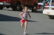 Nicole Zerrer, 10, finished the 5K race in 30:57.