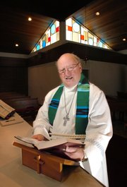 The Rev. Gaylen Burow, who has served as pastor of Emmaus Lutheran Church in Bonner Springs, will enter into semiretirement, keeping busy helping the church make the transition as it merges with St. Martin Lutheran Church.