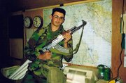 Ben Ontiveros during the first Gulf War.