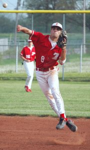 Keith Wentz-Hall and Tonganoxie High advanced to a Class 4A regional baseball final in 2008.
