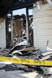A fire in the 201 block of 82nd Street destroyed Glen Owen's home Thursday.