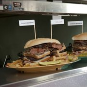 "The ""Ultimate Destroyer"" is a new sandwich at Papa Bob's BBQ designed to challenge people to finish the meal."