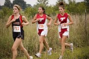 Tonganoxie runners Shelby Maxon and Nikki Beggs ran their first cross country race on Thursday and posted the third- and fourth-best times, respectively, for the THS girls.