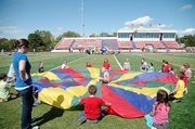 Baldwin School District elementary students were treated to the annual field day at Liston Stadium on Friday. There were fun and games for all first and second graders throughout the district.