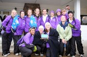 Baldwin High School's girl's cross country team won  the Sabetha Invitational last Thursday.