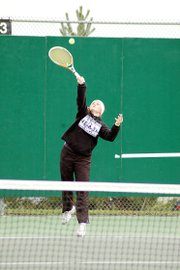 Baldwin High School junior Kara Protasio finished fifth to qualify for the state tennis tournament this weekend.