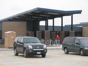 The new Basehor Intermediate School (above) will be complete in time for teachers and students to move in after winter break.