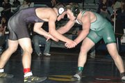 Brandon Vukas won the 171-pound title Saturday at the league tournament.