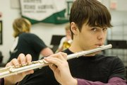 """I picked the flute because in the Legend of Zelda video games Link plays an ocarina, which is like a flute. I played those games since I was a little kid and so I wanted to play those songs. At one point I knew how to play them all,"" Tommy Strauser, DHS junior."