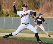 St. James Academy pitcher Kyle Urban allowed just one hit and one run in four innings of work against Eudora.