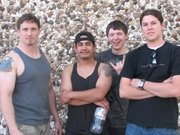 David Pilgrim (far left), Chris Quijas, Samuel Gomer and Dustin Taylor are members of the rock band H GAGE. The band recently won a California Dreamin contest that will send them to Hollywood. 