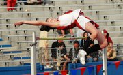 In her first time competing at the Kansas Relays, Tonganoxie freshman Jenny Whitledge placed 10th in the girls high jump with a mark of 5-1
