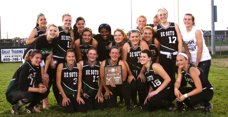 The De Soto High varsity softball team ended its 18-5 season with a loss to Basehor-Linwood in the Class 4A regional championship.