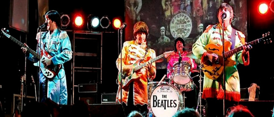 Liverpool, a Beatles tribute band, plays at 7 p.m. Thursday at Old Shawnee Days.