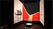 The virtual exhibit featured the work of eight famous furniture designers.
