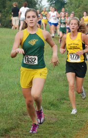 Basehor-Linwood freshman Ally Laney finished 10th at the Bonner Springs Invitational.