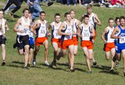 The Shawnee Mission Northwest boys cross country team starts the Class 6A state championship race Saturday at Rim Rock Farm. The Cougars won their 15th state title in the last 17 years.