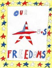 GRES second-grader Jaedyn Roberts' winning poster.