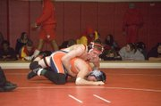 Britton Price went 3-0 for Tonganoxie and won the 135-pound weight class Saturday.