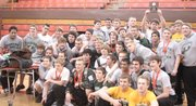 The Basehor-Linwood boys powerlifting team won its second straight Class 4A state championship Saturday in Abilene. The Bobcats have finished in the top two for four straight years.