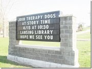 Lansing's Pride events sign