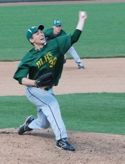 Austin Stubbs allowed just five hits in five innings of work while leading Basehor-Linwood past St. James Academy, 7-5.