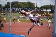 Tonganoxie junior Dylan Jacobs, making his second straight state appearance in high jump, finished 15th with a mark of 5 feet, 8 inches.