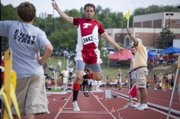 Tonganoxie High senior Dylan Scates won his second straight state medal in the triple jump Friday at Wichita with a seventh-place finish.