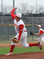 AJ Gilbert, a 2011 Tonganoxie High graduate, committed this past winter to play baseball at Barton Community College.